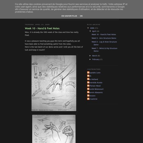 Analytical Figure Drawing SP08 - StumbleUpon