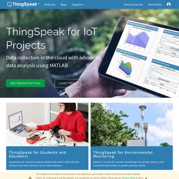 Internet of Things - ThingSpeak
