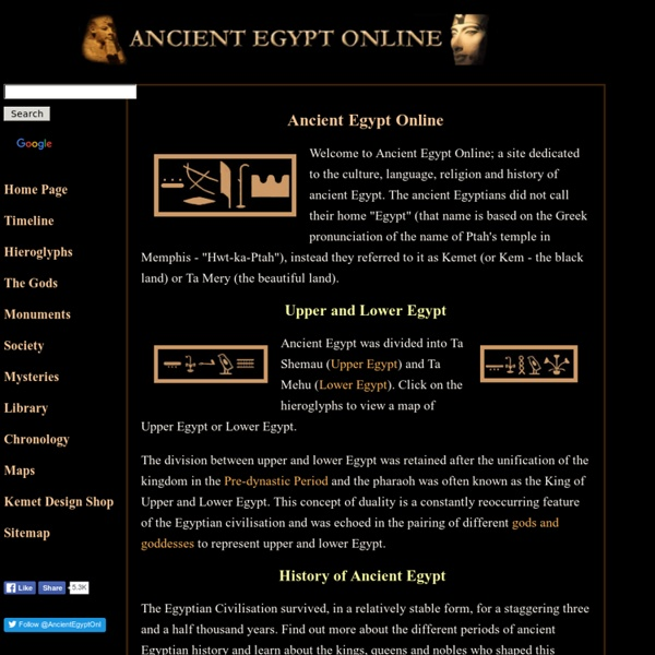 Ancient Egypt Online