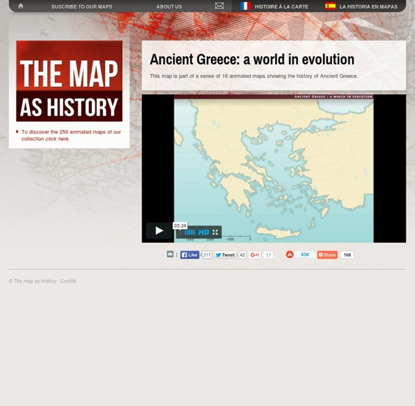 Ancient Greece: a world in evolution