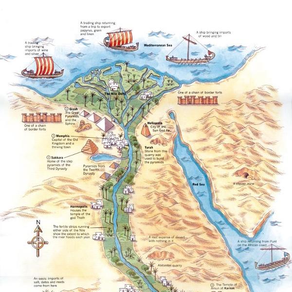 AncientEgyptMap.jpg (JPEG Image, 841x1474 pixels)
