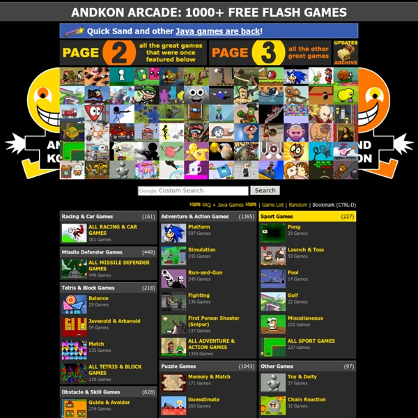 flash games arcade