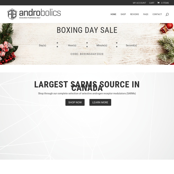 Androbolics - Peptides & SARMs Capsules Source Canada