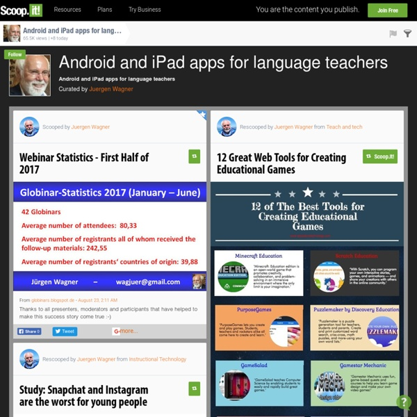 Android and iPad apps for language teachers