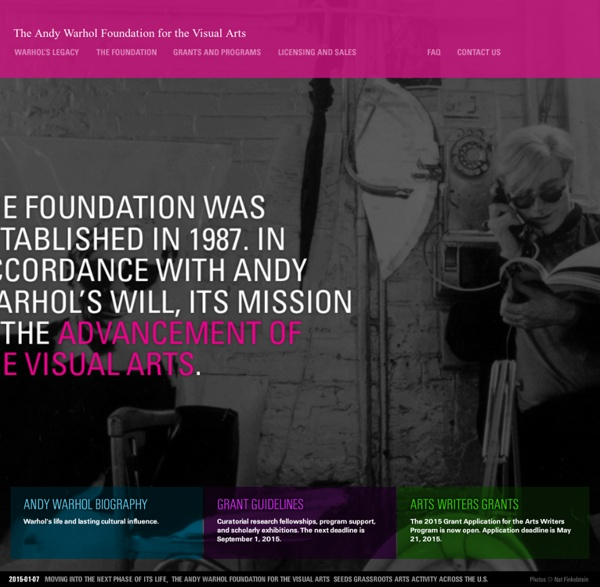 Fondation Warhol