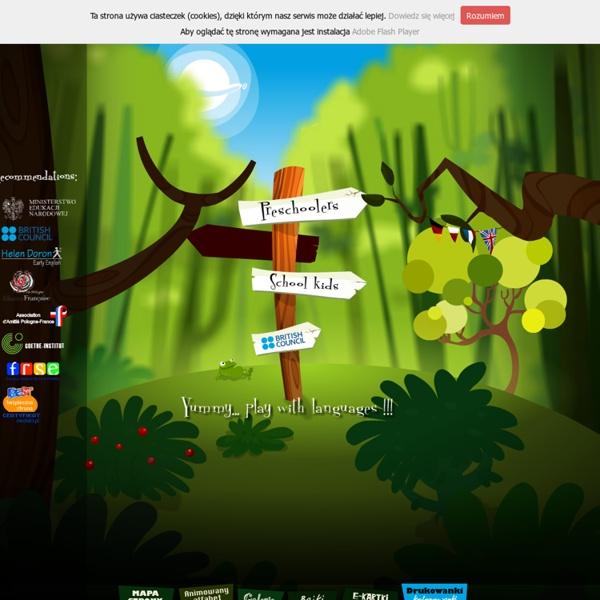 Darmowe gry dla dzieci online. Język angielski, francuski, niemiecki i polski - YUMMY.pl