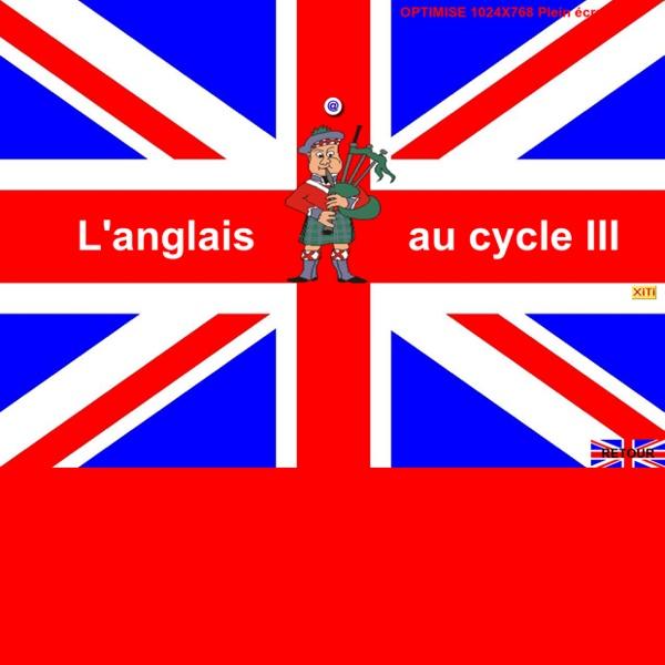 ANGLAIS CYCLE III