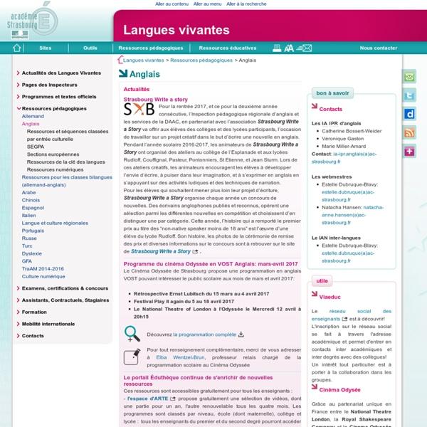 Anglais - Langues vivantes