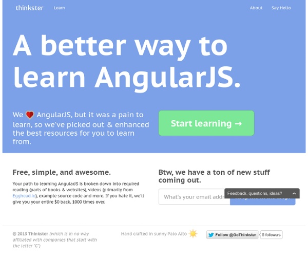 Learn to Build Modern Web Apps with the AngularJS Tutorial