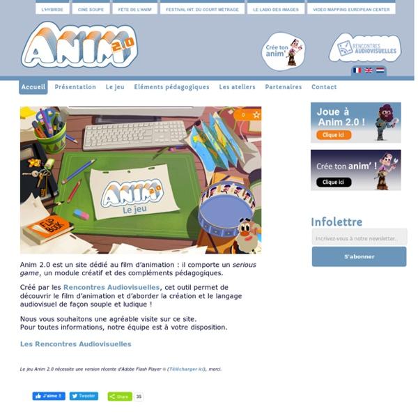 Anim 2.0 - Accueil