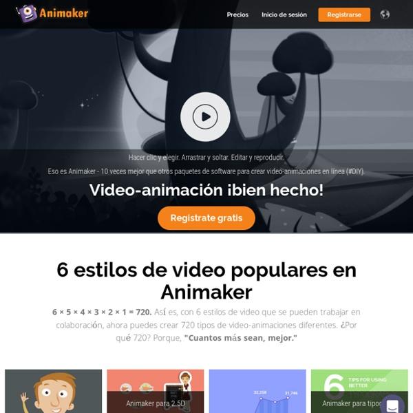 Animaker, Crea video-animaciones en la nube gratis