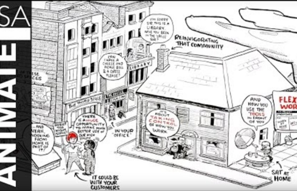 RSA Animate - Re-Imagining Work