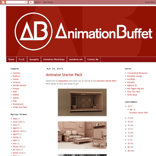 Animation Buffet