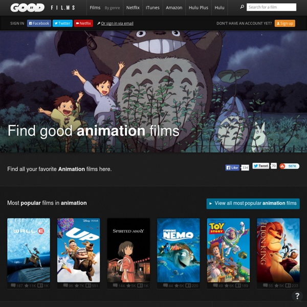 Good Animation Movies on Goodfilms