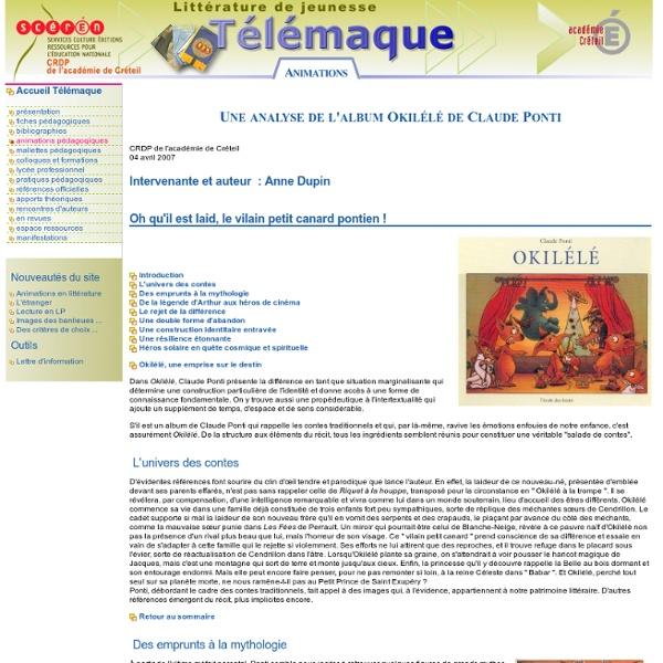 Okilélé de Claude Ponti