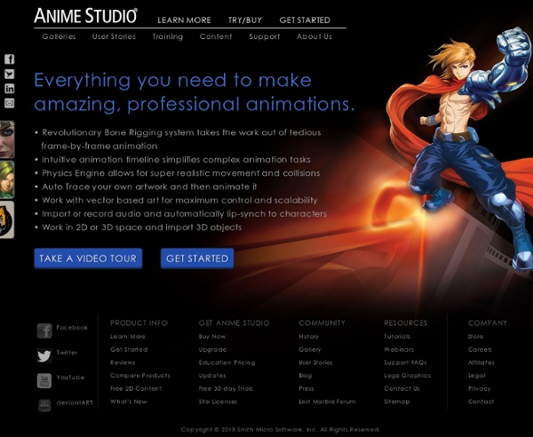 Anime Studio - Animation Software for Professionals, Beginners, Kids & Teachers