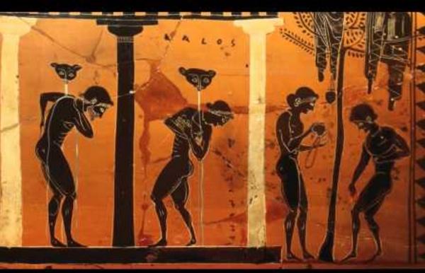 Animation d'un vase grec / Greec vase animation
