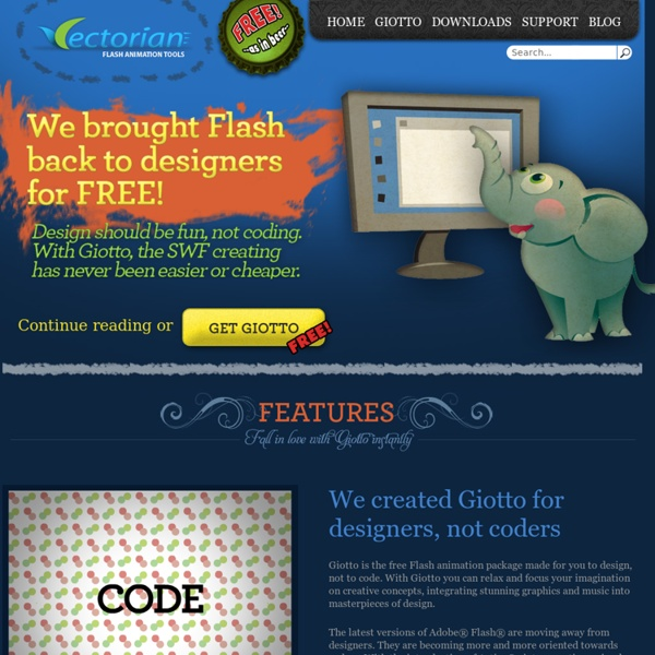Free Flash Animation Tool – Vectorian Giotto