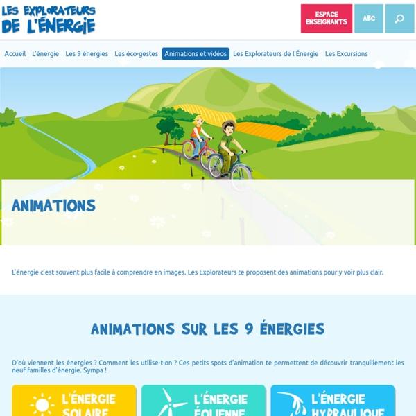 Animations et vidéos