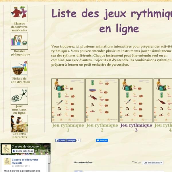 Animations interactives pour apprendre des rythmes