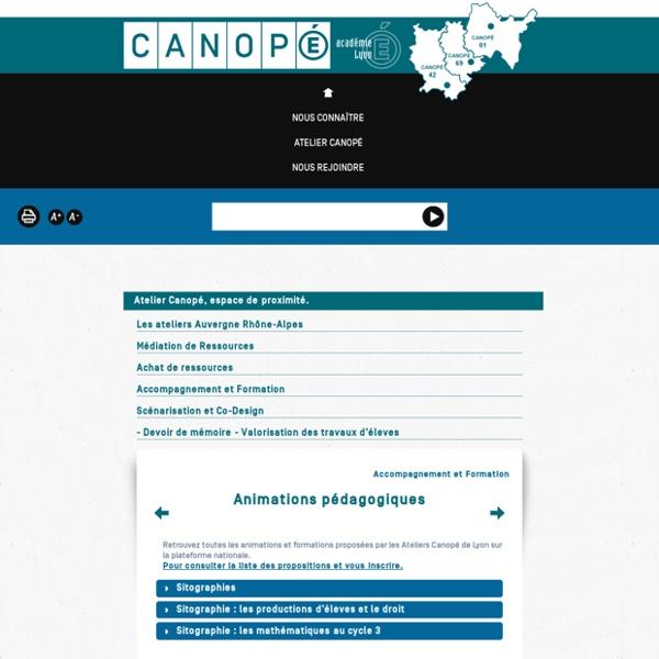 Sitographie : les productions d'élèves et le droit - Canopé de Lyon