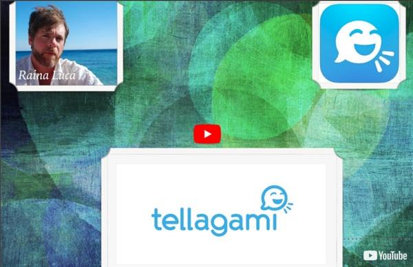 App per prof #6 TELLAGAMI (Animazioni e Storytelling)