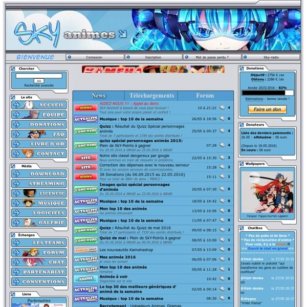 SkY-AnimeS - Télécharger Manga Anime Drama OST ...
