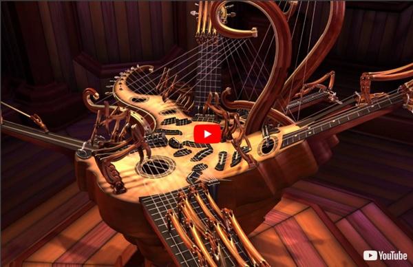 Animusic HD - Resonant Chamber (1080p)