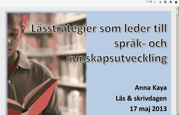 Www.lararfortbildning.se/web/anmlfort.nsf/files/667922559BD8AADCC1257B71003E63D9/$FILE/Anna Kaya.pdf