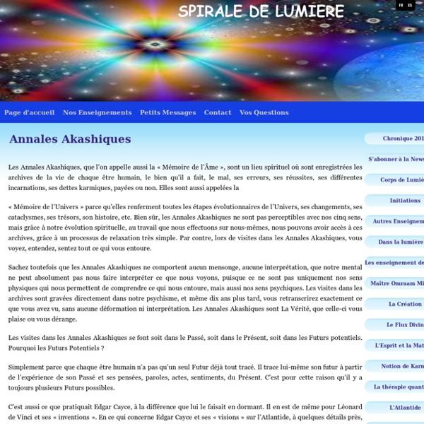 Annales Akashiques