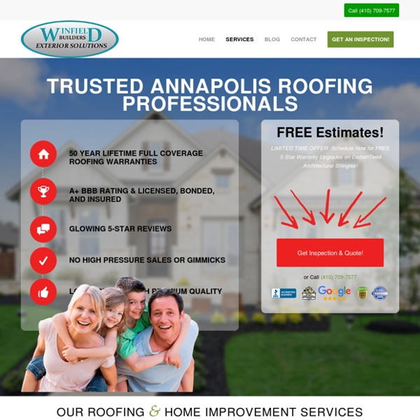 Reliable Annapolis Roofing Company - Trusted Maryland Roofing Professionals