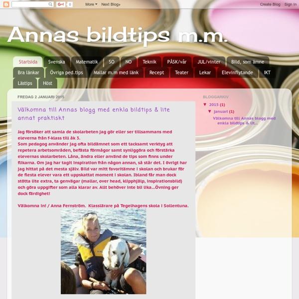 Annas bildtips