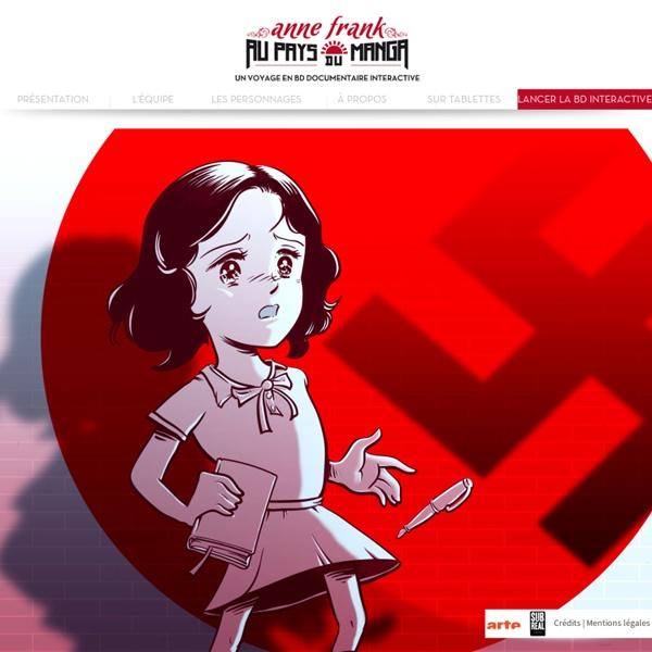 Anne Frank au pays du Manga - ARTE