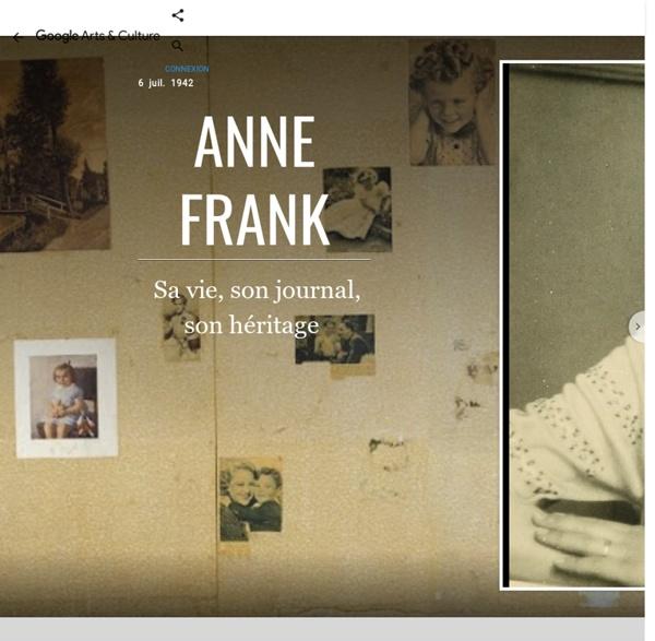 Anne Frank - Google Arts&Culture