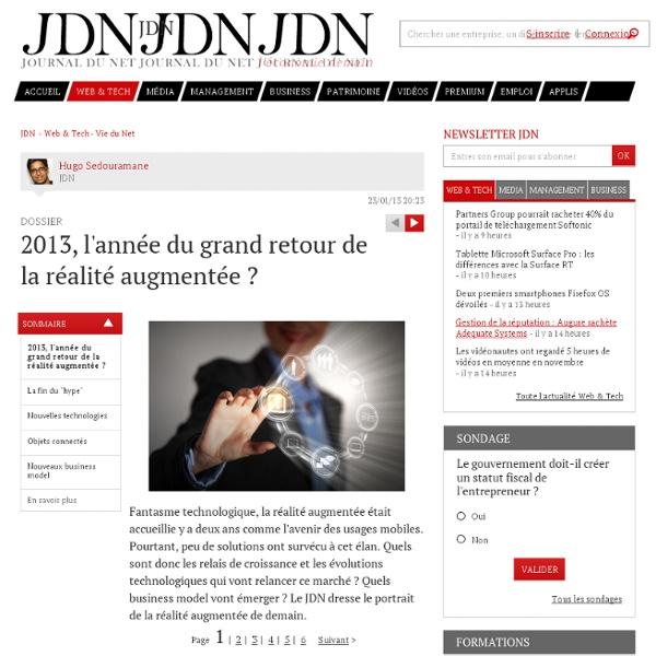 2013, l'année du grand retour de la réalité augmentée