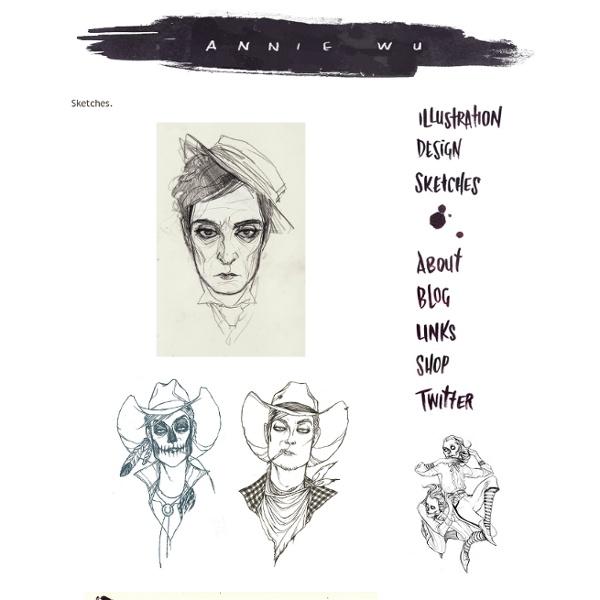 ANNIE WU: Sketches.