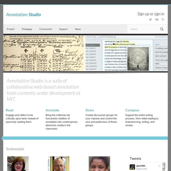 Annotation Studio