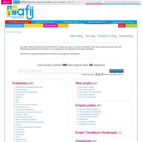 Sites agences d'intérim