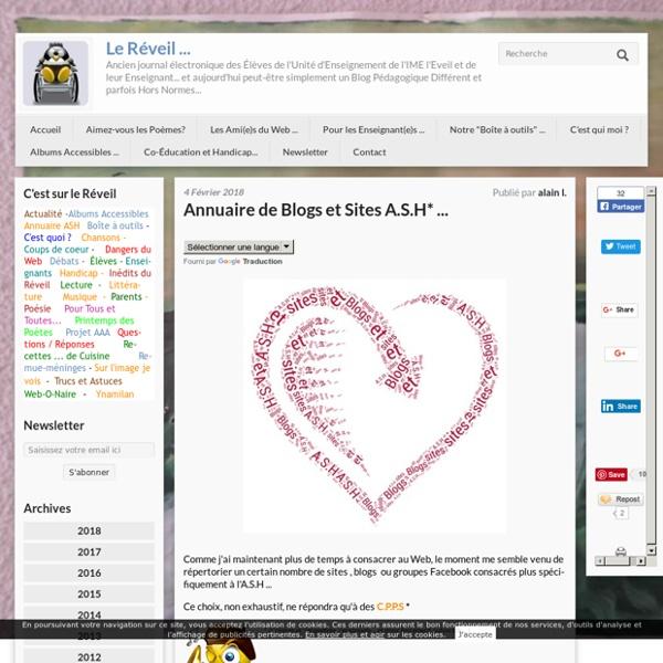 Annuaire de Blogs et Sites A.S.H*