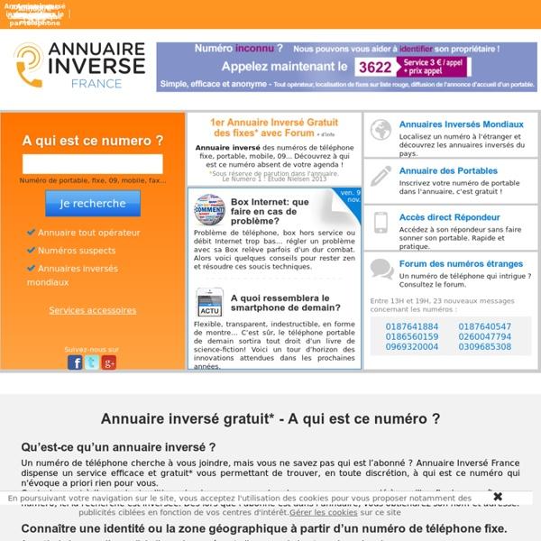 208497addb1a France telecom numero inverse portable » ecursouvneu.cf