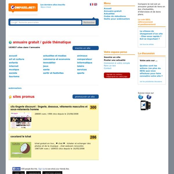 Annuaire gratuit, Compare net