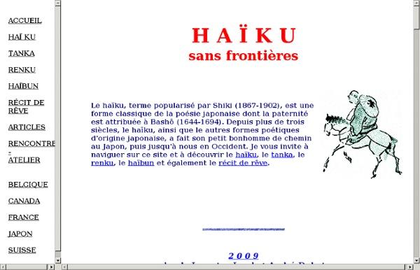 Anthologie du haïku