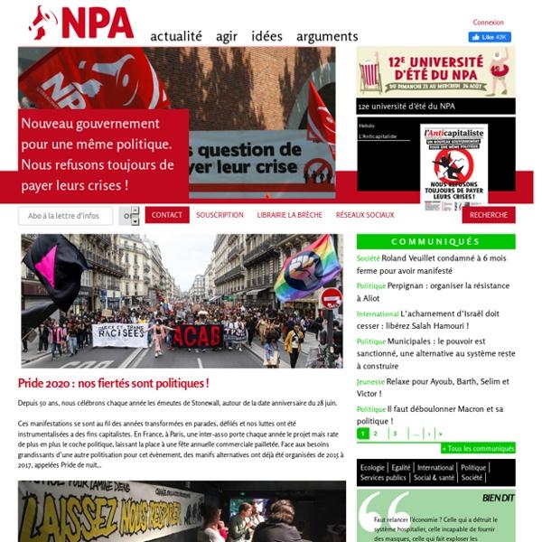 Un nouveau parti anticapitaliste maintenant !