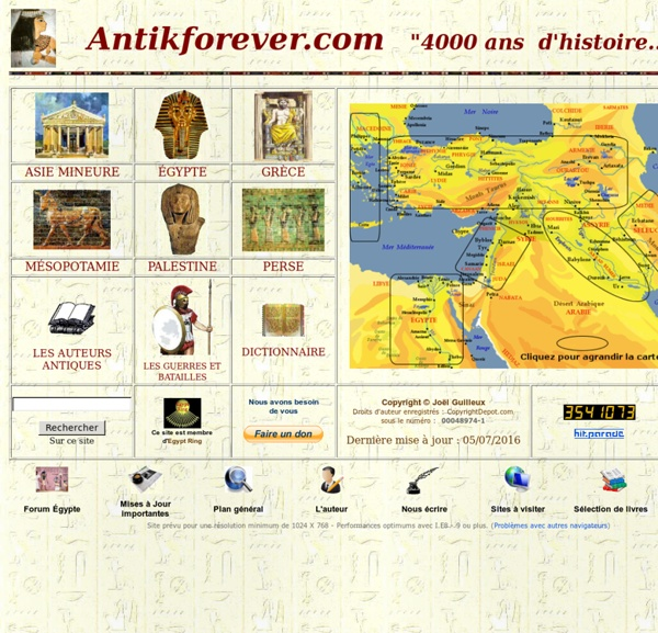 Civilisations antiques - Antikforever