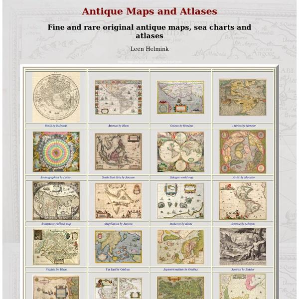 Antique Maps, Old maps, Vintage Maps, Antique Atlases, Old Atlas