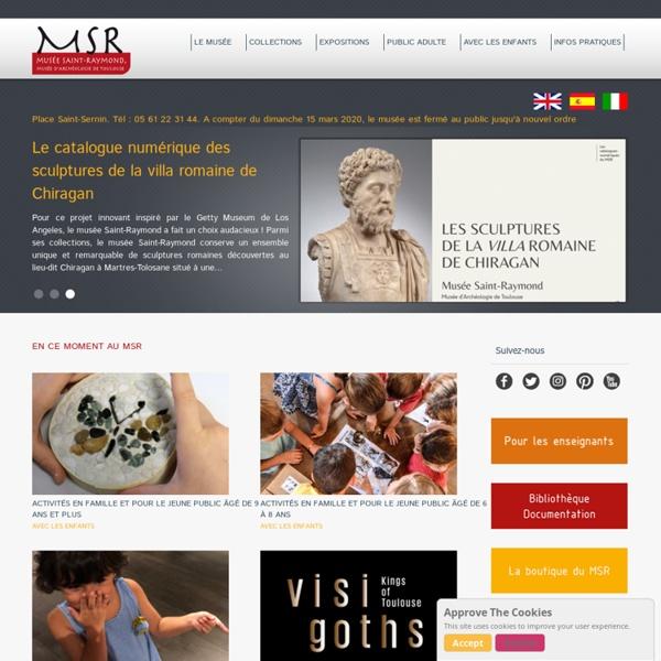 MSR, Musée Saint-Raymond, musée des Antiques de Toulouse