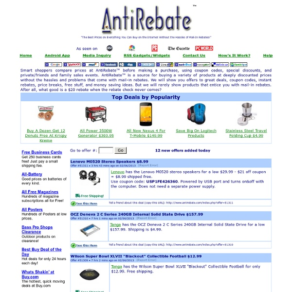 AntiRebate