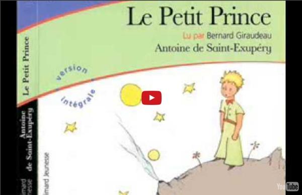 """Le Petit Prince"" (Antoine de Saint-Exupéry), lu par Bernard Giraudeau"