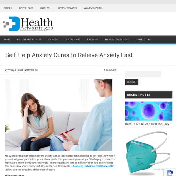 Indications And Solutions To Anxiety