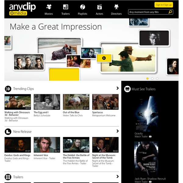 Anyclip - Any Moment, from Any Film